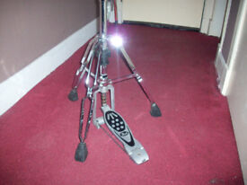 Pearl and unbranded high hat stands incomplete