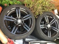 BMW M6 Alloys with Tyres