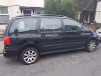 Volkswagen Sharan 7 Seater 2007 57 Plate, Auto, Black and PCO £1150 ONO