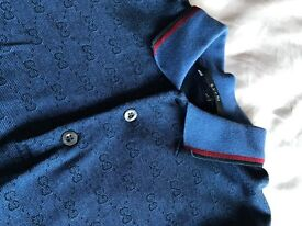 Gucci Polo Shirt in Blue