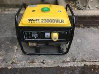 Wolf 2300DVLR Generator