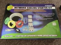 Network Cabling Starter Kit - Complete Home Networking Kit