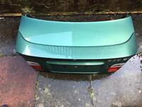 BMW e46 Coupe Boot & Spoiler