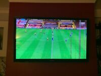 Samsung PS51E550 51-inch HD 3D Plasma TV - FAULTY LINES - with remote & stand