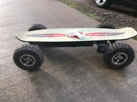 Electric off road skateboard