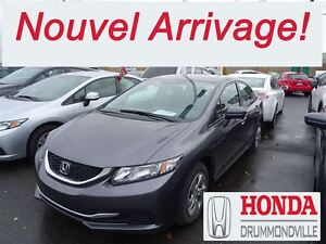 2015 Honda Civic LX + SIEGES CHAUFFANTS+ BLUETOOTH