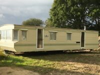 WILLERBY SALISBURY 35'X12' MOBILE HOME STATIC CARAVAN