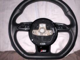 Genuine Audi S3 Steering Wheel