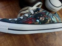 Converse all star cat woman shoes size 6