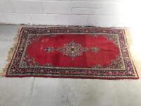 Early 20th century floor rug keshan style 92cmx175cm