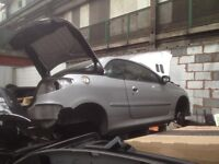 peugeot 206 cc breaking for spare parts many part still available call on 07593085858