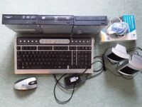 3 optical DVD drives plus keyboard and mice