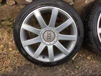 Audi rs4 alloy wheels vw 5x112 seat Skoda a4 a6