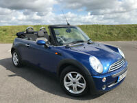 AUTOMATIC 2007 MINI COOPER CONVERTIBLE WITH ONLY 32,000 MILES AND SULL SERVICE HISTORY! GREAT CAR!