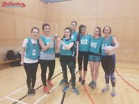 Play Soical Netball with Friends!