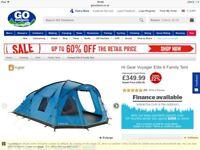 Tent + ground sheet + tent carpet