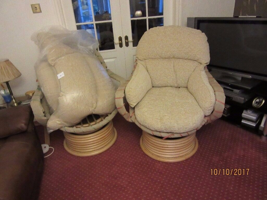 conservatory chairs (swivel type)