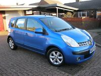2007 NISSAN NOTE 1.4 SE, 5DR, 12 MONTHS MOT, 67K MILES. £1,595.ono *P/X WELCOME*