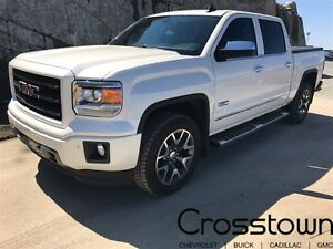 2015 GMC Sierra 1500 SLT/HEATED LEATHER/SUNROOF/BACKUP CAM/BLUET