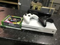 Xbox One S plus Kinect and all games inc