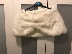 Ladies winter wrap ideal for wedding