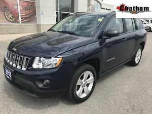 2013 Jeep Compass Sport/North/ ONE LOCAL OWNER/ $46 WKLY