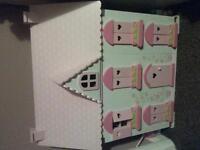 elc rosebud dollhouse furnished