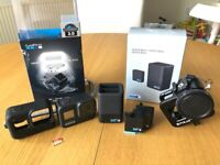 GoPro Hero 8 incl. 3 Batteries and dual charger