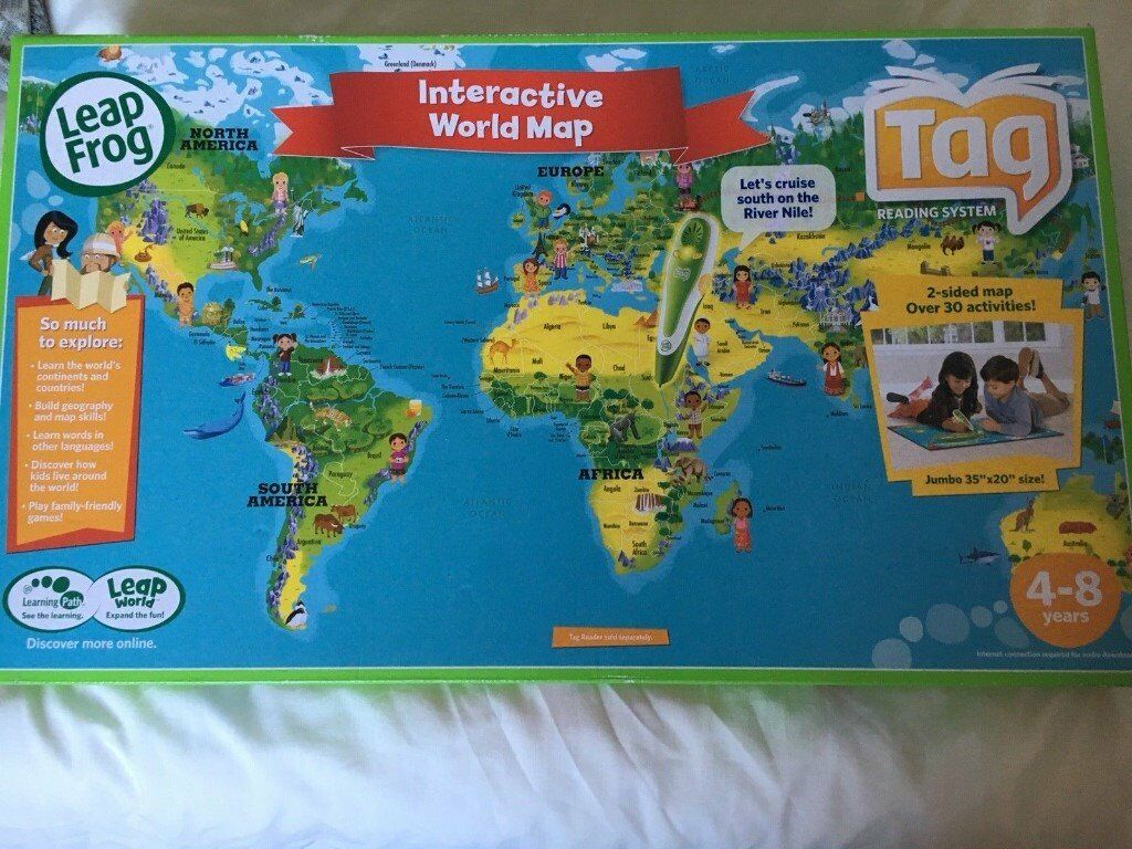 Leapfrog Interactive World Map.Leapfrog Interactive World Map In Stanley County Durham