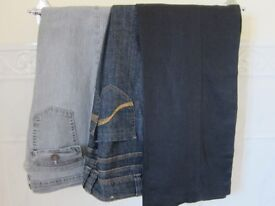 Five Pairs of Size 12 Jeans - £3.50