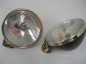 1933 1934 Ford Car Commercial Headlights w/ Turn Signal