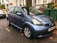 Toyota Aygo - 5dr - 58 reg - 12 mnth MOT, no advisories - 67000 miles - lady driver - excellent cond