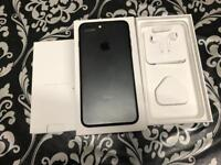 iPhone 7 Plus 32gb mate black colour Unlocked to any network