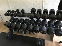 BodyMax Weights set from 5-50kg - nearly new