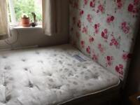 Double duvan bed with storage draws!