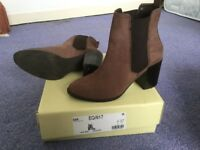 Boots size 4 worn once