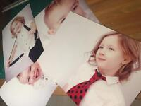 Your own pictures on plastic board