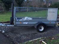8x4 car trailer