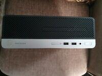 HP ProDesk 400 G5 SFF.8th gen i5 8500,16gb DDR4,512gb m.2 NVME SSD,500gb HDD,DVDRW