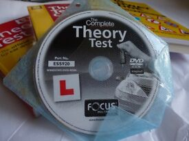 4 Books and 1 dvd How to Pass You Driving Test AA Books