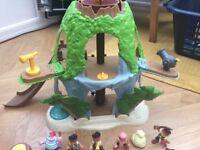 Jake and the Neverland Pirates Tiki hideout set