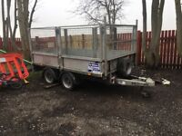 ifor Williams trailer cadge sides comes with loading ramps