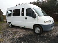 PEUGEOT BOXER 17 SEAT MINIBUS ONLY 60K MILES VERY TIDY