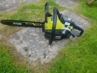 Brand new ryobi chainsaw £70 ONO