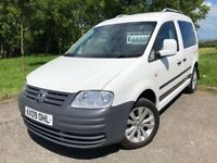 2009 09 VOLKSWAGEN CADDY 1.9 *DIESEL* AUTOMATIC CREW CAB - ONLY 2 FORMER KEEPERS - GOOD EXAMPLE!