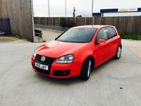 VW GOLF 2.0 GT 5DR SERVICE HISTORY NEW MOT