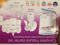 Philips avent sterilizer and bottles