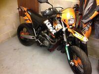 Trick KTM 660 SMR not SMC,