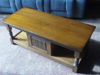 Old Charm Oak Coffee/TV Table – Reduced Price