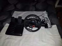 Logitech Driving Force GT Steering Wheel PC/PS3